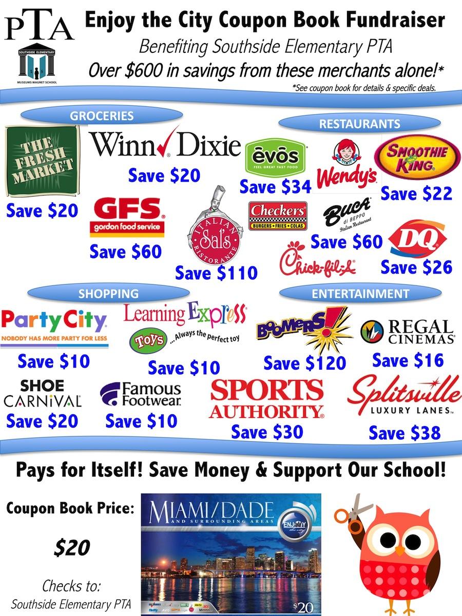 Miami dade enjoy the city coupon book