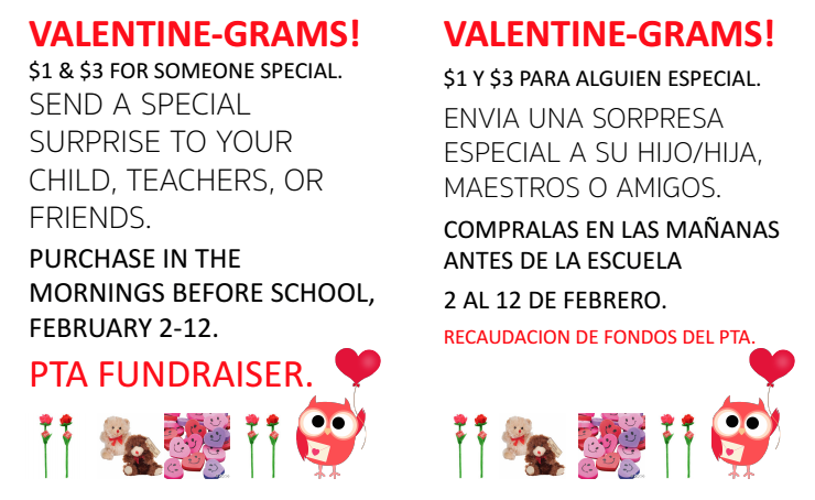 Großartig Valentine Grams Are Back! Send A Special Something To Your Special Someone!  Or The Students Can Send To Their Friends. How It Works: